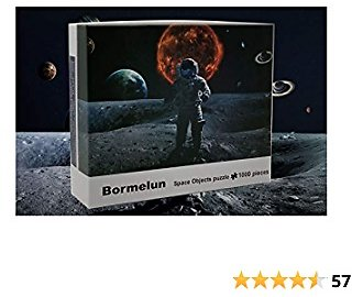 Space Objects Puzzle Is Suitable for Adults and Family 1000 Piece