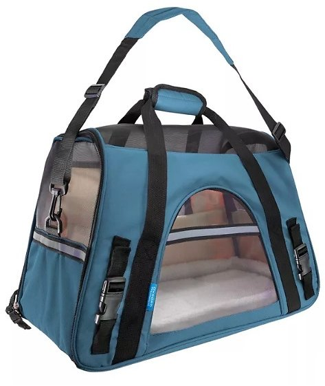 Paws & Pals Soft-Sided Pet Carrier (2 Colors)