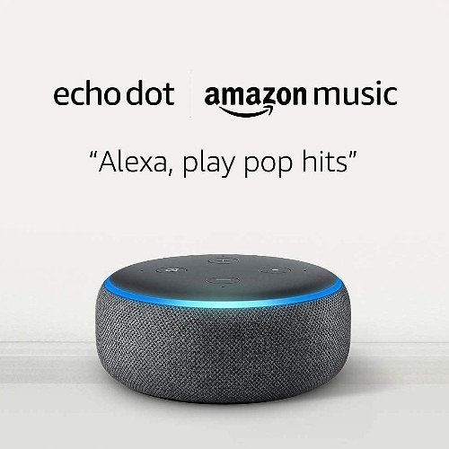$4.99 Echo Dot w/ 1 Month Music Unlimited
