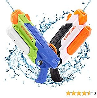 55% Off + 15% Prime Squirt Water Gun Summer Party for Kids ( 2Pack )