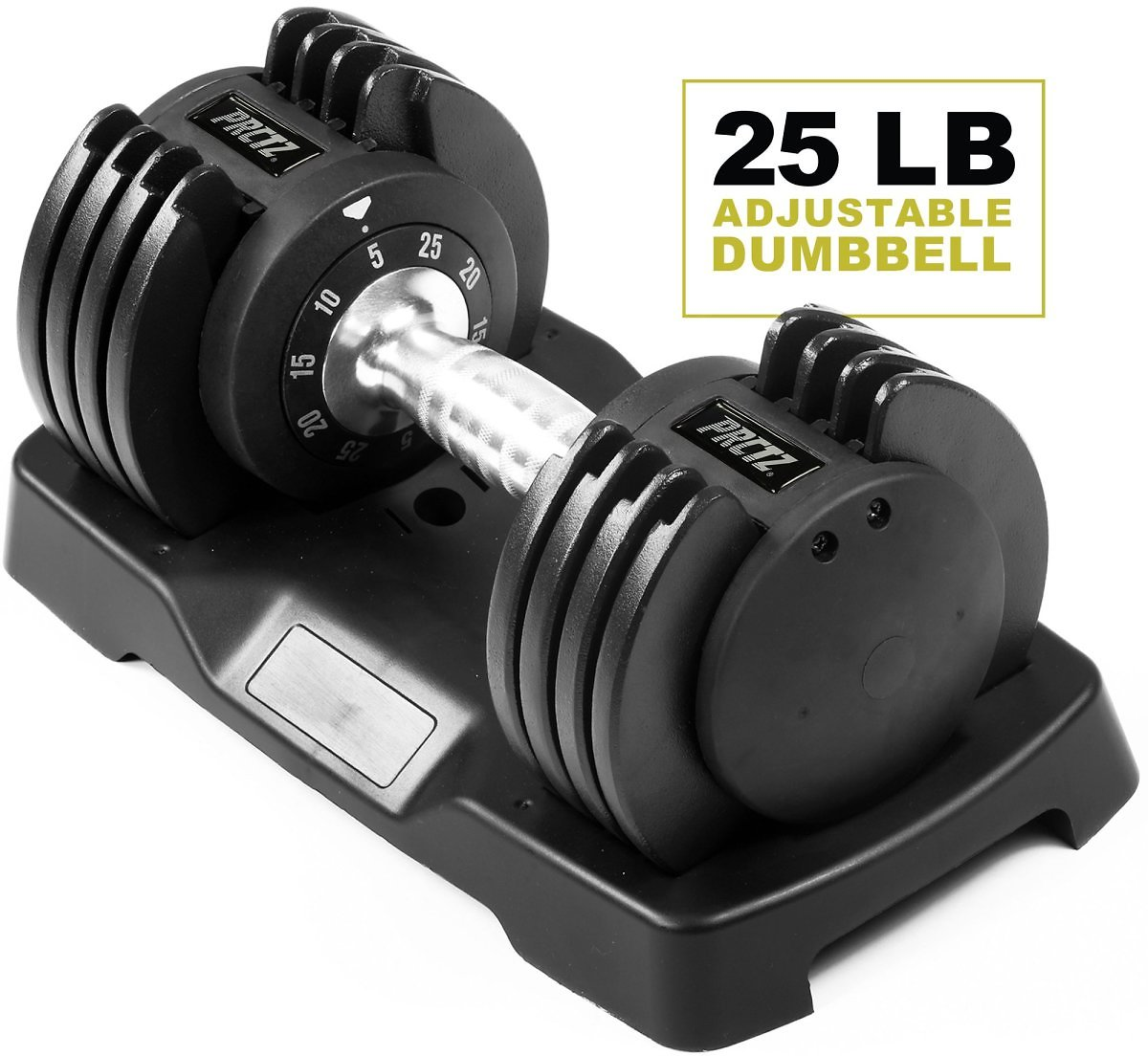 PRCTZ Adjustable Dumbbell, Single - Available in 25lb & 55lb