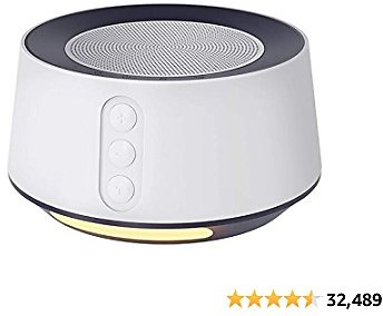15% Off Letsfit White Noise Machine with Adjustable Baby Night Light for Sleeping