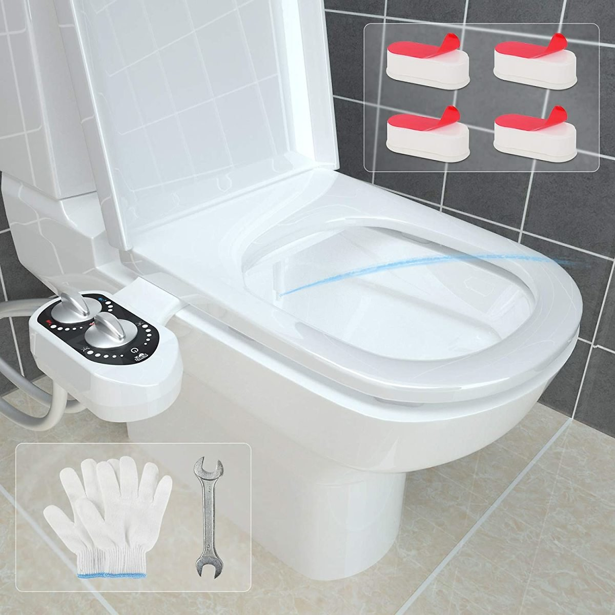 Save 50% On Bidet Attachments with Promo Code 50ZXBKJ5 On Amazon.com