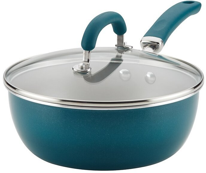 Rachael Ray Create Delicious Aluminum Nonstick 3 Qt. Everything Pan