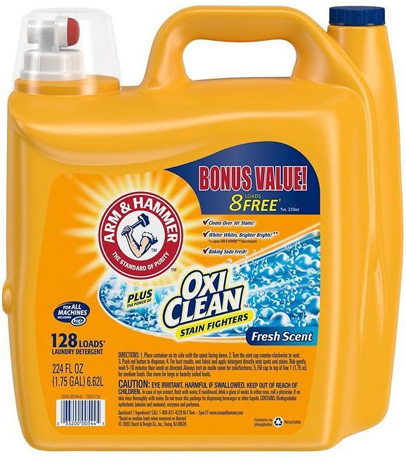 224-Oz Arm & Hammer Fresh Scent Detergent