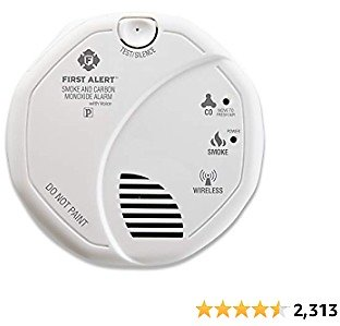 15% Off First Alert SCO501CN-3ST Battery Operated Combination Smoke and Carbon Monoxide Alarm with Voice Location