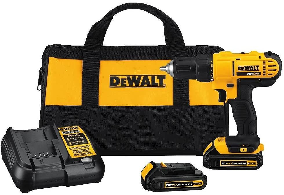 41% Discount - 20V MAX Cordless Drill / Driver Kit, Compact, 1/2-Inch (DCD771C2) By DEWALT