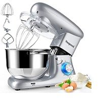 Stand Mixer, Vospeed 6 QT 660W 6-Speed Tilt-Head Food Mixer, Electric Kitchen Mixer with Stainless Steel Bowl,Dough Hook, Mixing