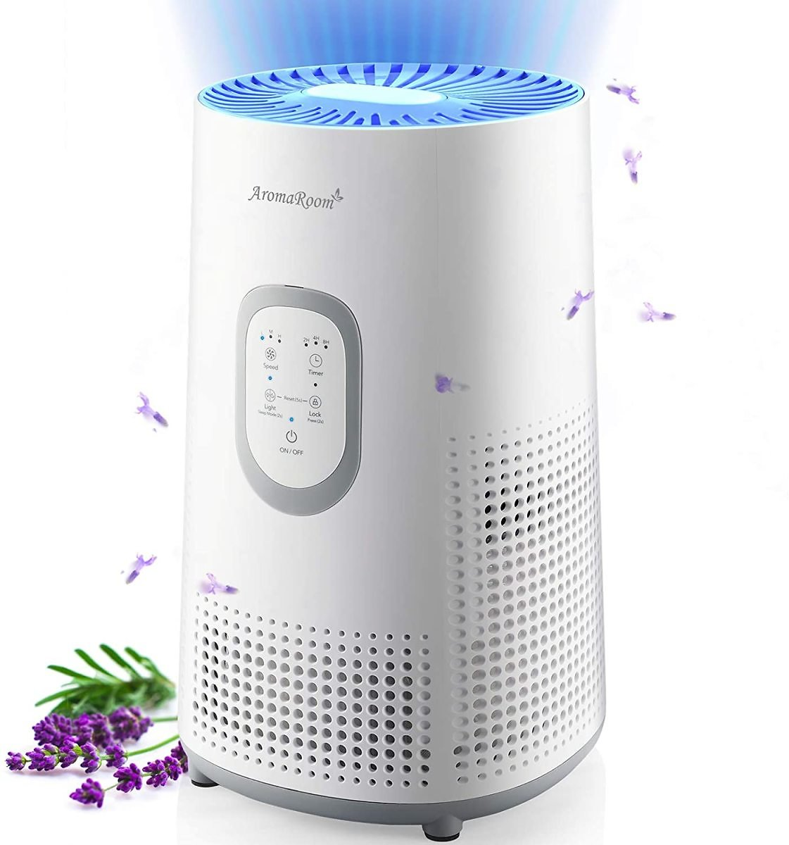 30% Off Air Purifiers for Large Room with True HEPA Filter and Night Light