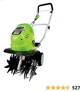 Greenworks 40V 10-Inch Cordless Cultivator, Battery Not Included 27062