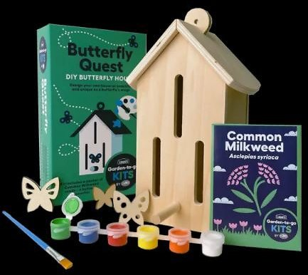 Lowe's Earth Day Freebie: How to Register for April 29 SpringFest Giveaway of Free Butterfly Quest Kits