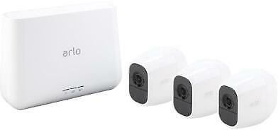 Arlo Pro 2 Wireless Security Camera System - 3 Rechargeable Battery Powered Wire 606449128505