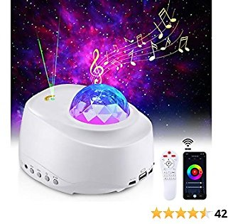 Star Projector Night Light Projector Galaxy Light for Kids Bedroom Home Decor App and Remote Control