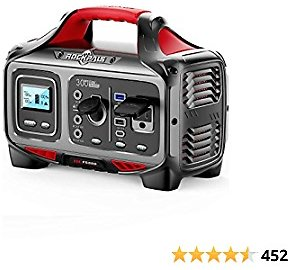 ROCKPALS 300W Portable Power Station, 280wh (78000mAh) Solar Generator with 110V Pure Sine Wave AC Outlet, USB-C PD Input/Output, QC 3.0, CPAP Backup Lithium Battery for Outdoor Camping Emergency