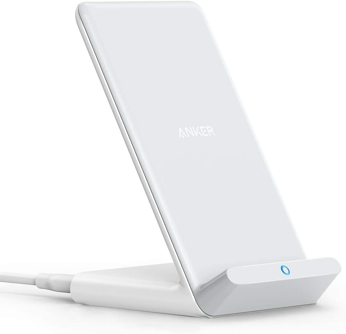 Anker Wireless Charger, PowerWave Stand, Qi-Certified