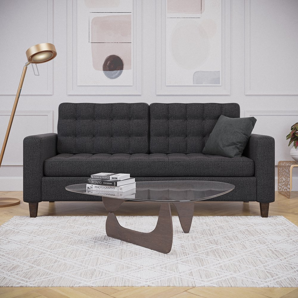 Mayview Upholstered Square Arm Sofa