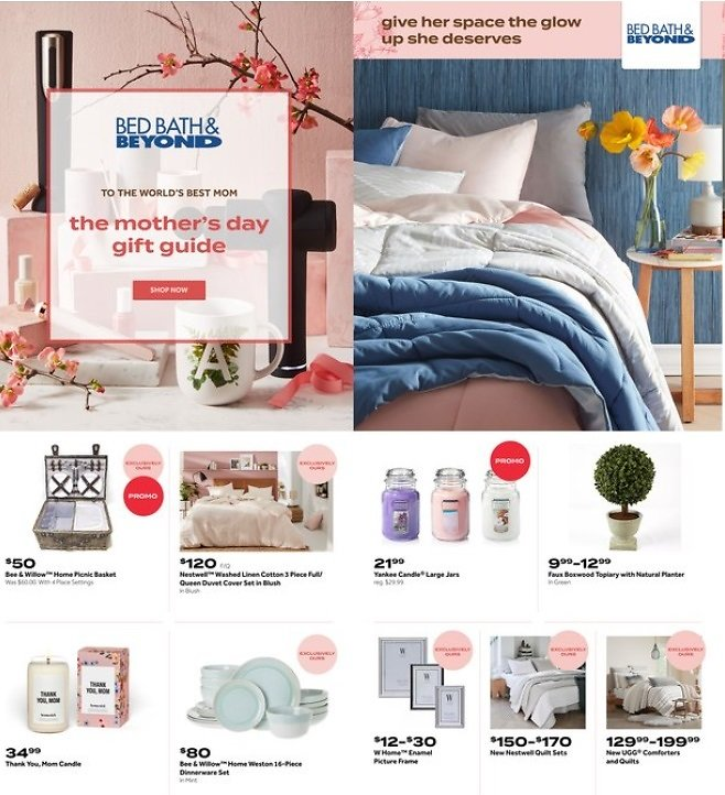 Mother's Day Gift Guide AD