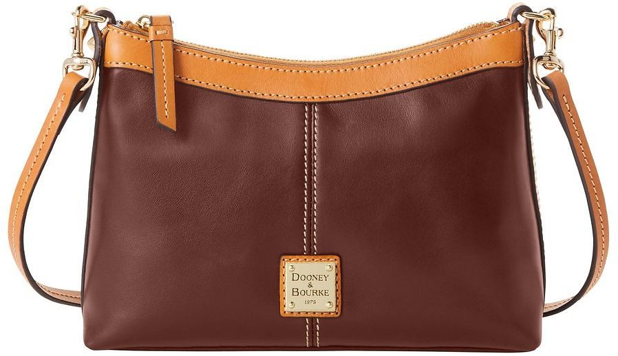 Dooney & Bourke Wexford Leather Crossbody Pouch - 2 Colors