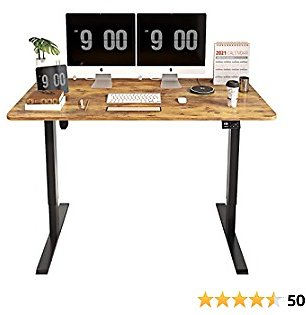 Up to 40%off Electric Height Adjustable Computer Desk 55 X 28 Inches