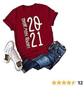50% Off Women Letter Print Shirts Casual Short Sleeve O Neck Tee 2021 Funny Graphic Workout Tops
