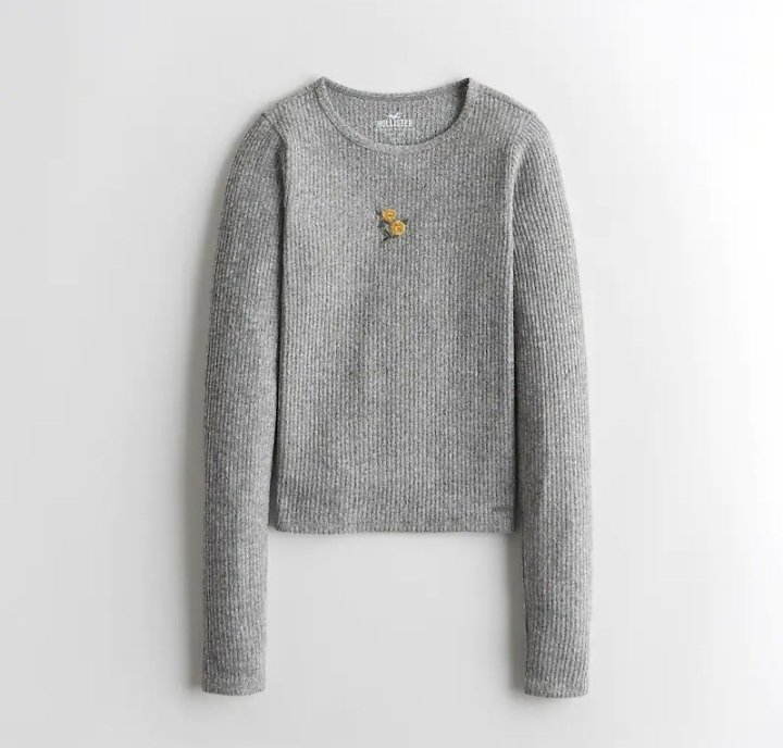 Girls Must-Have Cozy Baby Tee | Girls Clearance | HollisterCo.com