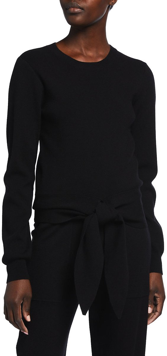 WAYFMilo Knotted-Front Sweater