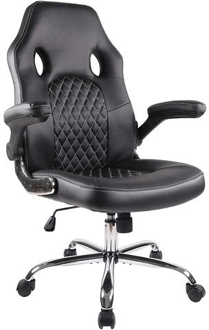 33% Off High Back Computer Office Desk Chair with Padded Seat