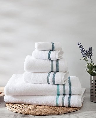 Limited Time Special Lacoste Cotton Bath Towels At Macy's