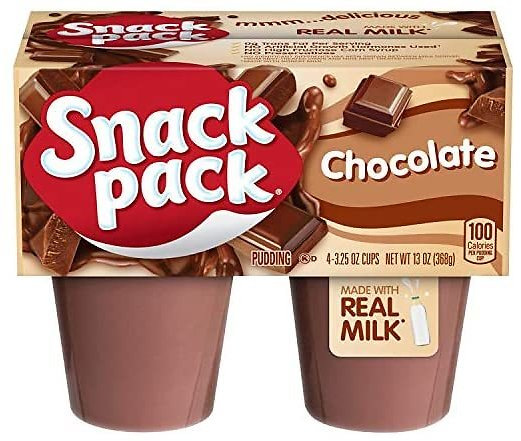 12-Pk Snack Pack Chocolate Pudding Cups