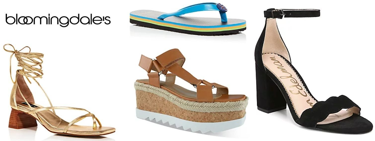 Bloomingdales Sale Sandals Up to 60% Off + Extra 25% Off 2+