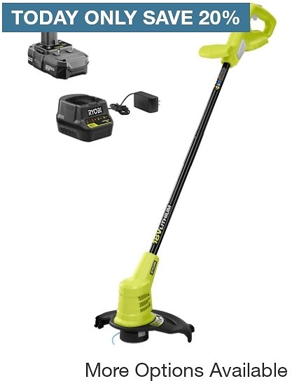Up to $30 Off Select String and Hedge Trimmers