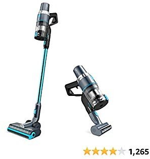 28% Off JASHEN V18 Cordless Vacuum Cleaner, 350W Power Strong Suction 2 LED Powered Brushes Cordless Stick Vacuum, Dual Charging