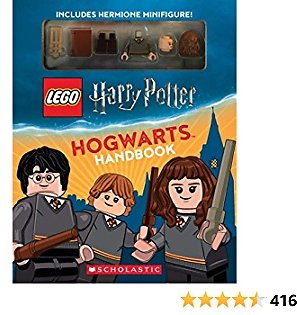 LEGO Harry Potter Hogwarts Handbook with Hermione Minifigure Paperback – May 14, 2019