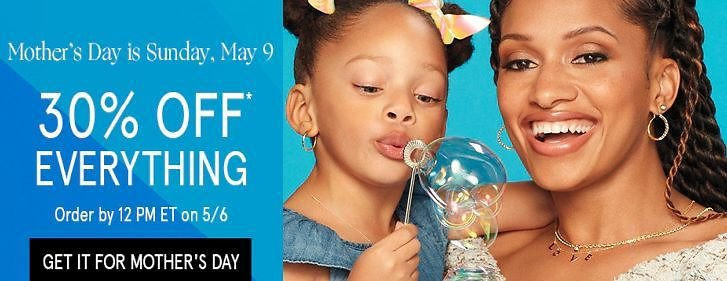 Zales - 30% Off Everything + Up to 50% Off Mother's Day Specials