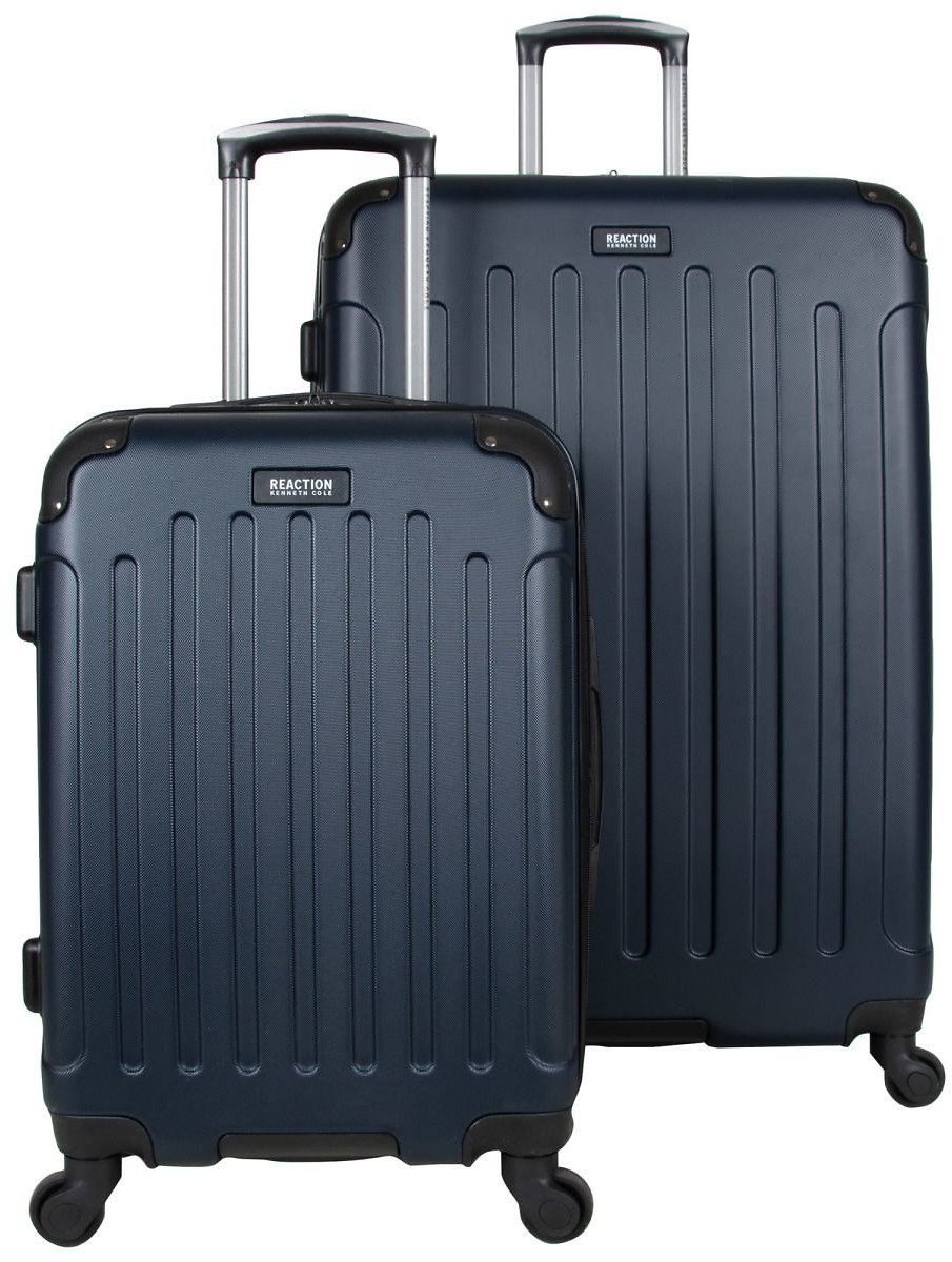 Kenneth Cole Reaction 2-Pc. ABS Expandable 4-Wheel Luggage Set - Navy