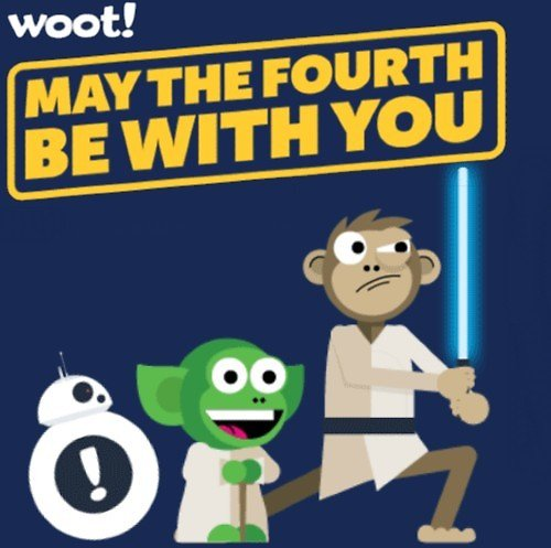 'May the Fourth Be with These Deals!'