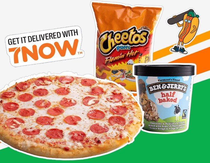 7 Eleven Free Delivery