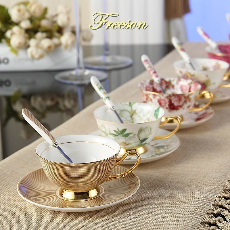 30% OFF Coffee Cup Saucer Spoon Set