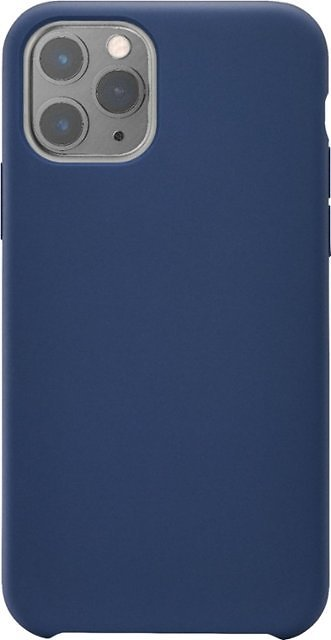 Insignia™ Silicone Hard Shell Case for Apple® IPhone® 11 Pro Midnight Navy Blue NS-MAXISLSMV