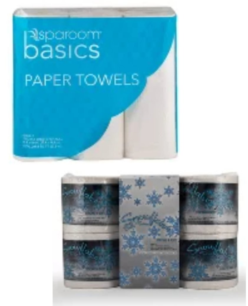 Bogo Free Toilet Paper and Paper Towels