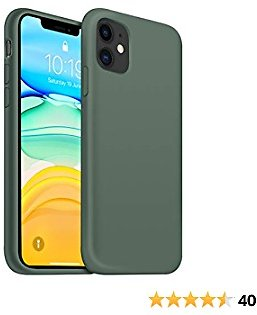 Ouxul Liquid Silicone Case for iPhone 11