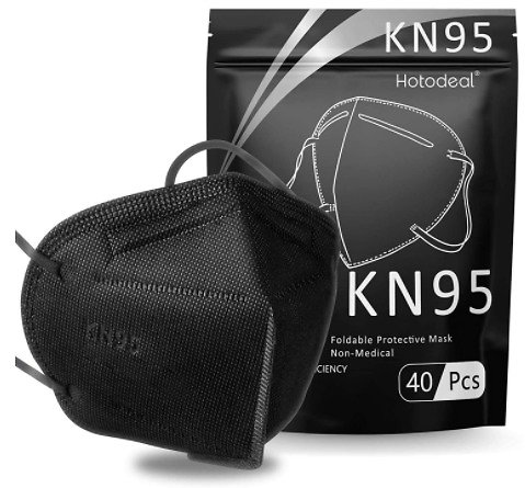 40-Pack KN95 Face Mask