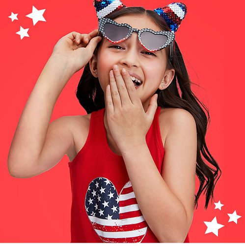 Up To 80% Off The 4th of July Shop