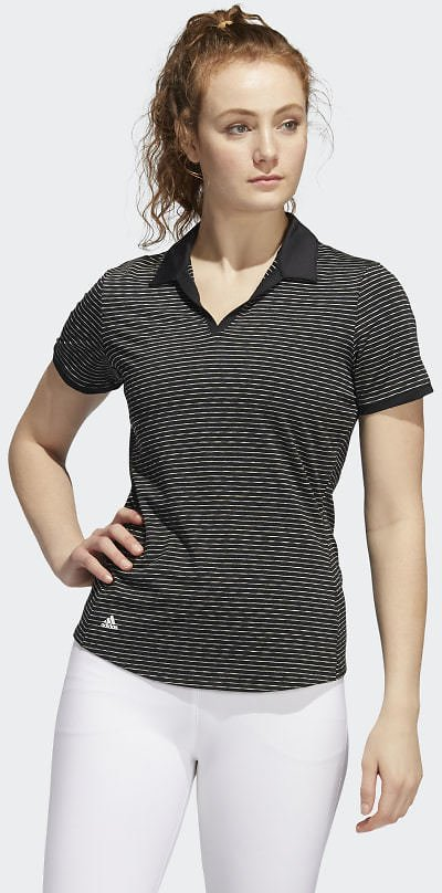 Ultimate365 Space-Dyed Striped Polo Shirt