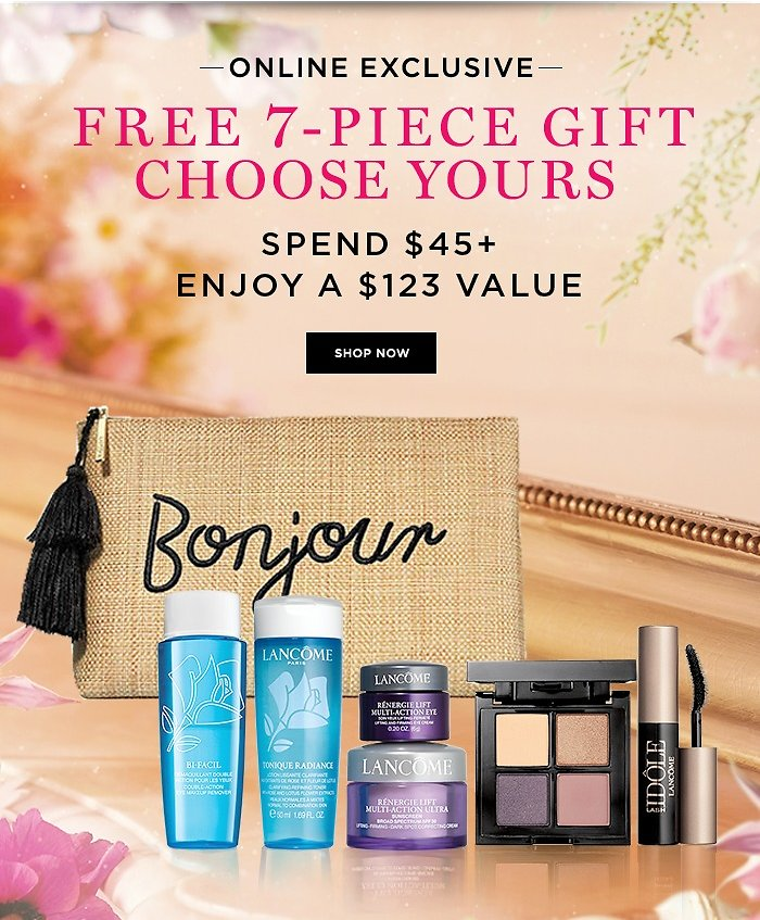FREE 7-Piece Gift W/ $45 Purchase - Lancome