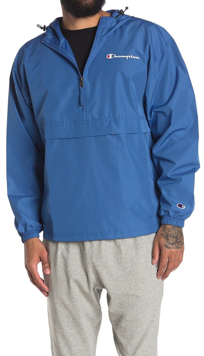 Champion   Solid Packable Hooded Jacket (3 Colors)