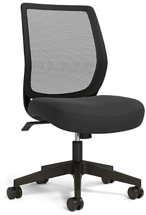 Union & Scale Mesh Back Fabric Task Chair