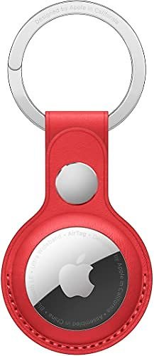 Apple - AirTag Leather Key Ring - 3 Colors