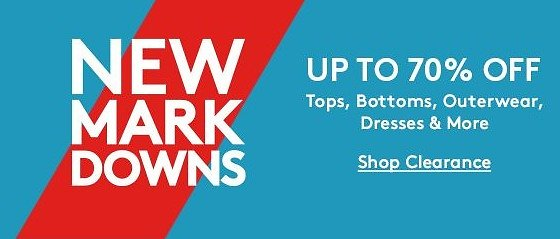 Up To 70% Off New Markdown Sale from $3.99 | Nordstrom Rack