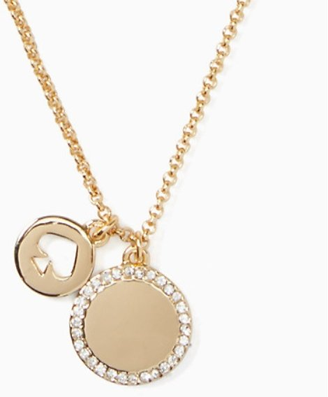 Today Only! Spot The Spade Pave Charm Pendant